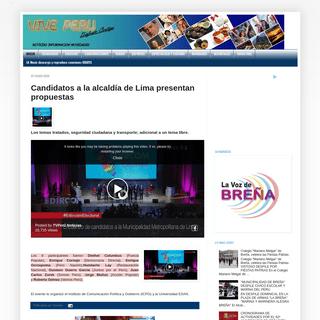 Central de Noticias Vive Peru