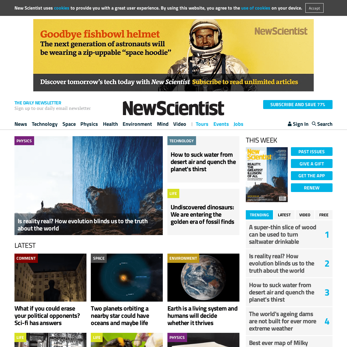 New Scientist - Science news and science articles from New Scientist