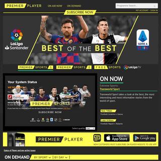 PremierPlayer.tv Live and On Demand