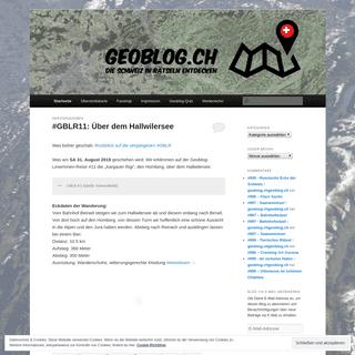 geoblog.ch ⋆ Die Schweiz in Rätseln entdecken ⋆geoblog.ch - Die Schweiz in Rätseln entdecken