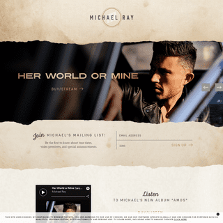 Michael Ray Official Website