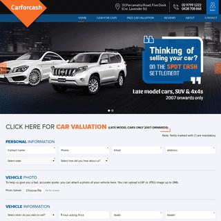 Car for cash,Sell my cars,car buying Sydney.