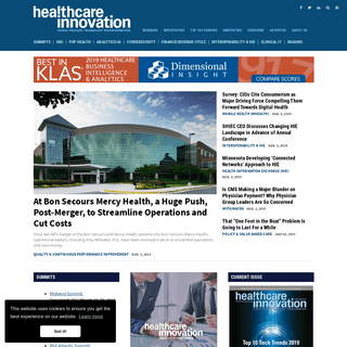 Home - Healthcare Innovation