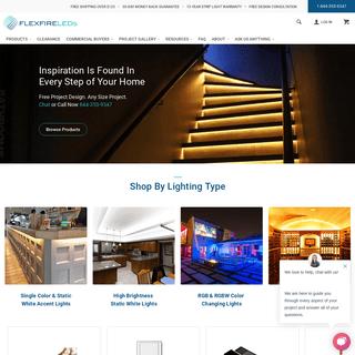 Brightest LED strip lights, Flexible LED Strip Kits, LED Distributors