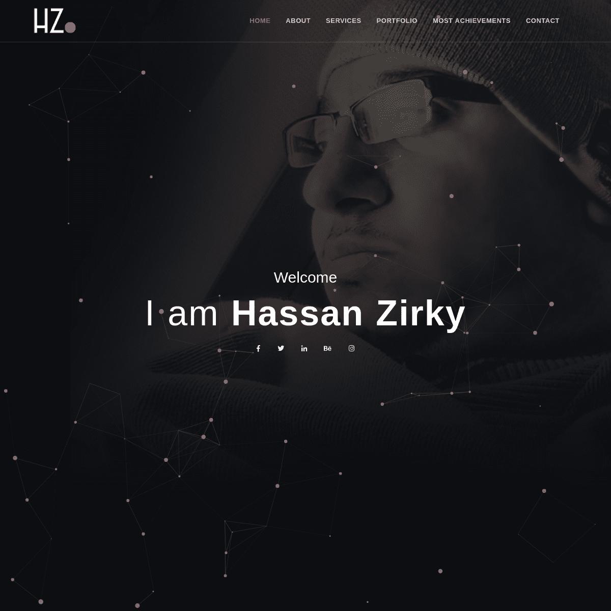 Hassan Zirky - Graphic Designer