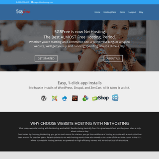 5GB Free Hosting - Free Webhost - The Best ALMOST Free Hosting, Period.