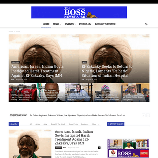 TheBoss Newspaper - Bringing You The News That Matters