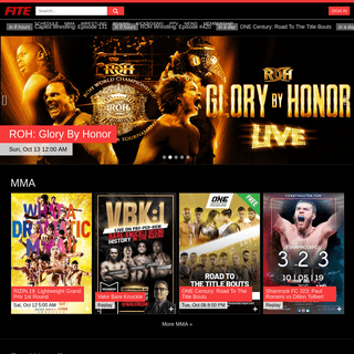▷ FITE- #1 MMA, Wrestling & Boxing Live Streaming Site