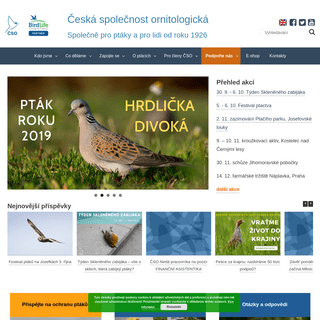 Česká společnost ornitologická