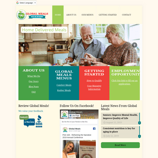 Global Meals - Home Meal Delivery to Seniors and People with Disabilities