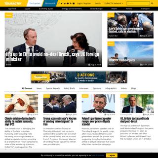 EURACTIV.com – EU news and policy debates across languages