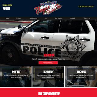 Traffic Ticket Attorney Located in Las Vegas - Vegas Ticket Fix