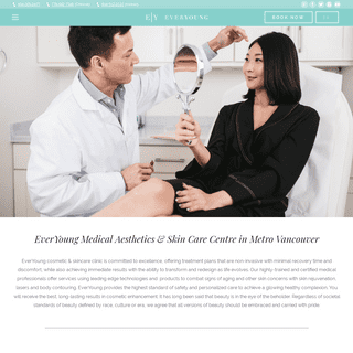 EverYoungMed Aesthetics Centre - Cosmetic Laser & Skin Care Clinic in Vancouver
