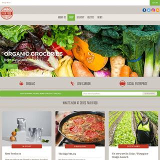 CERES Fair Food - Organic, seasonal groceries delivered to your door!