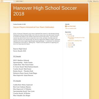 ArchiveBay.com - hanoverboyssoccer2018.blogspot.com - Hanover High School Soccer 2018