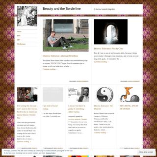 ArchiveBay.com - beautyandtheborderline.wordpress.com - Beauty and the Borderline - A Journey towards Integration