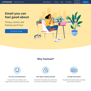Fastmail- email on your side