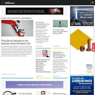 Journal de l'assurance - Leadeur de l'information en assurance et en investissement