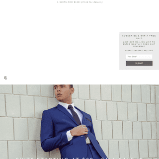 Suits Starting at $39 & Easy to Buy Online - Alain Dupetit – ALAIN DUPETIT