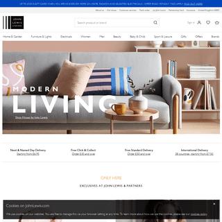 ArchiveBay.com - johnlewis.com - John Lewis & Partners - Homeware, Fashion, Electricals & More
