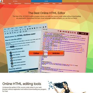Online HTML Editing Tools