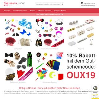 oblique-unique.com