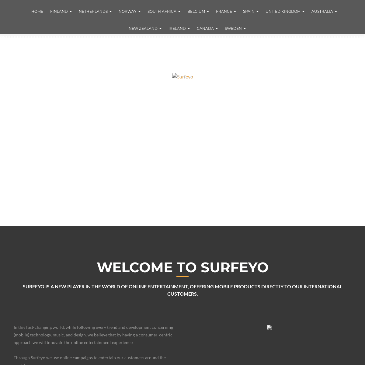 Surfeyo – Welcome to Surfeyo