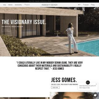 Buy Premium Denim & Women's Jeans - Style With Purpose - Nobody Denim