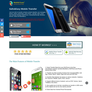Free Mobile Transfer-Transfer Data from Phone to Phone