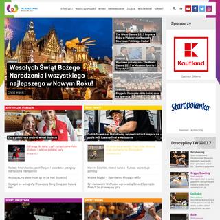 The World Games 2017 » Światowe Igrzyska Sportowe we Wrocławiu