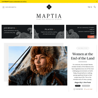 Maptia · Home to a World of Stories
