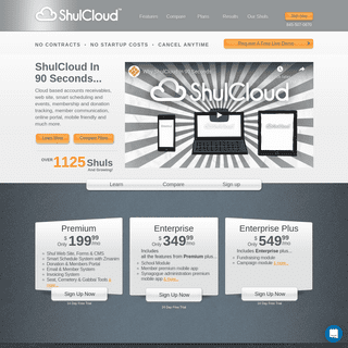 ShulCloud - Synagogue Web Site, Calendar & Accounting Software
