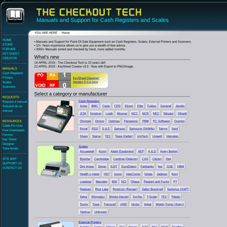 ArchiveBay.com - the-checkout-tech.com - THE-CHECKOUT-TECH - Manuals for Cash Registers, Scales and more