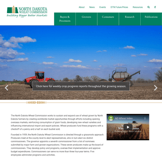 Home - ND Wheat Commission