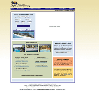 Resort, Hotel and Vacation Discounts