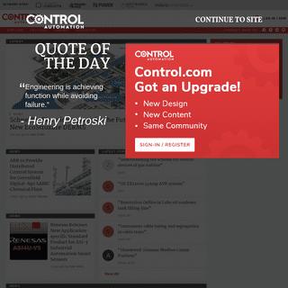 Control.com - Forum for Automation & Control Professionals