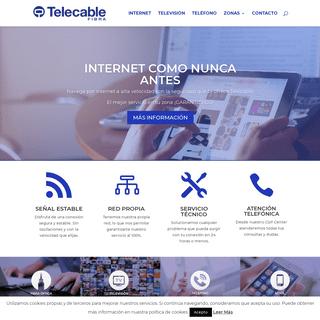 Home - Grupo Telecable - Internet Fibra, Teléfono y Televisión