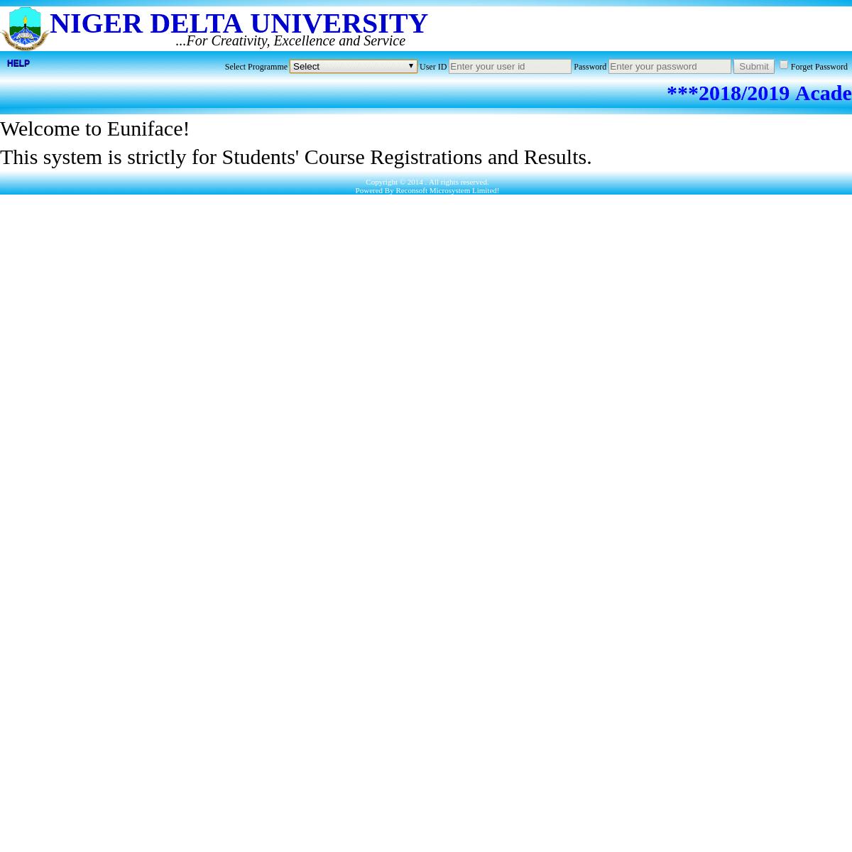 ArchiveBay.com - ndu-eface.edu.ng - Welcome - Euniface