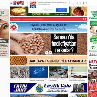 Samsun Haber - Samsun Gazetesi