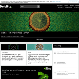 ArchiveBay.com - deloitte.com - Audit, Consulting, Financial Advisory, Risk Management & Tax services and reports - Deloitte Canada