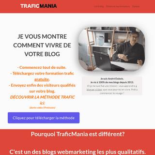 Bienvenue sur TraficMania - Trafic Mania