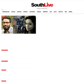 ArchiveBay.com - southlive.in - Southlive Malayalam- Kerala News, Malayalam News, Breaking News, Movie News, Political News - Southlive.in provides latest news