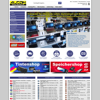 Games, Computer, Merchandise, LEGO - alcom.ch
