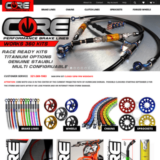Custom and Aftermarket Sport Bike Parts and Accessories – Core Moto specializes in custom colored stainless steel braided