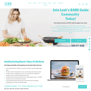 Leah Itsines - Healthy Cooking Made Easy - 300+ Quick & Tasty Recipes – LEAH ITSINES