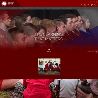 Geelong Private School - Christian College Geelong