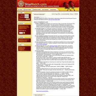 Shia Match - Matrimonial - Matrimonials - Shia Muslim Singles