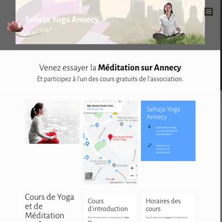 Yoga Annecy- découvrez les séances de l'association
