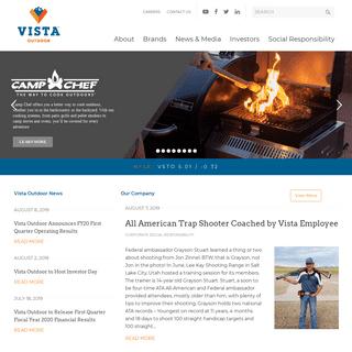 ArchiveBay.com - vistaoutdoor.com - Home - Vista Outdoor