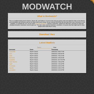 Modwat.ch